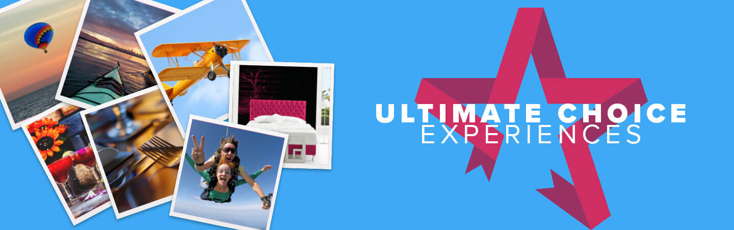 6f1a0e447158 Ultimate Choice Gift Experience Ideas | Activity Superstore