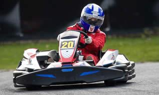 Karting at Buckmore Park