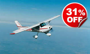 30 Minute Flying Lesson, Was £159, Now £109