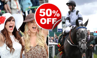 Winning Race Day with Behind the Scenes Tour for Two, Was £70, Now £35