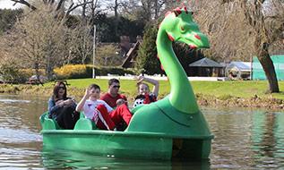 Family Boat Hire Adventure