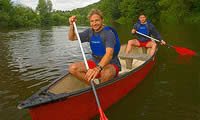 Canadian Canoeing Adventure Day For Two