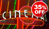 Cinema Experience for Four, Was £34, Now £22