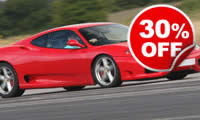 Awesome Foursome Supercar Drive, Was £199, Now £139