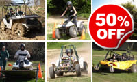 Off Road Challenge for Two, Was £498, Now £249