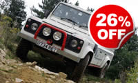One-to-One Off Roading Session, Was £114, Now £84
