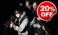 Zombie Combat Experience for Two, Was £198 , Now £158