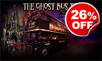 Ghost Bus Tour for Two, Was £39, Now £29