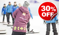 Skiing or Snowboarding Lessons, Was £164, Now £114