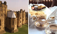 Luxury Afternoon Tea at Alnwick Castle for Two