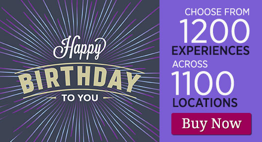Happy Birthday - Gift Experience Voucher