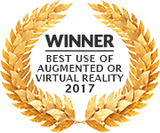 Winner - Best Use of Augmented or Virtual Reality 2017