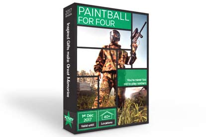 Paintballing Experience For Four
