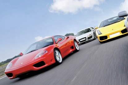 Supercar Triple Thrill