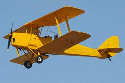 30 Minute Tiger Moth Flying Lesson