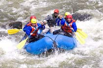 White Water Rafting - Natural Rapids