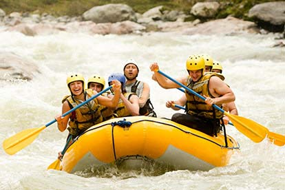 White Water Rafting For 6 People