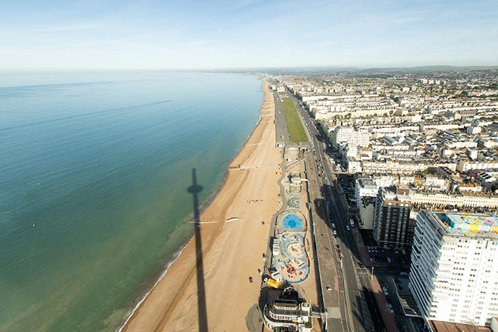 British Airways i360 and Bella Italia 3 Course Meal with Prosecco for Two