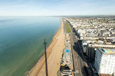 British Airways i360 and Bella Italia 3 Course Meal with Prosecco for Two Thumb