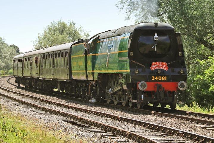 Steam Train and Cream Tea at Nene Valley Railway