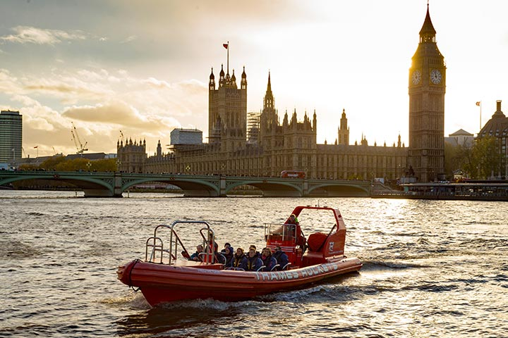 Romantic Twilight Speedboat Experience for Two