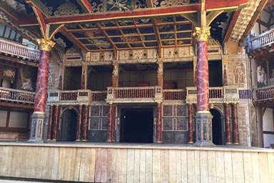 Visit to Shakespeare's Globe and a Meal for Two Thumb