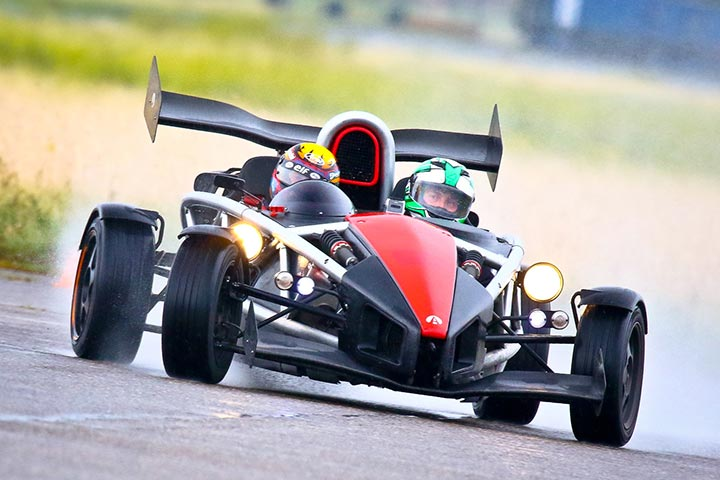 Ariel Atom Thrill with High Speed Passenger Ride