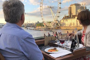 Six Course Dinner with Wine Pairing for Two at Bustronome London