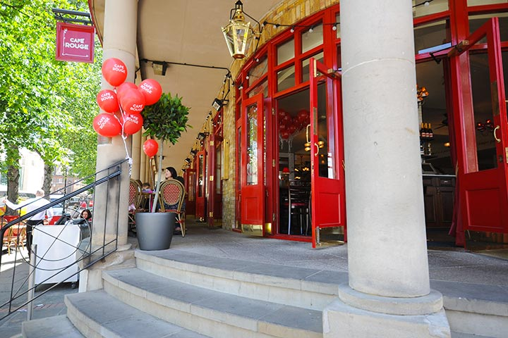 French Dining - Three Course Meal at Café Rouge