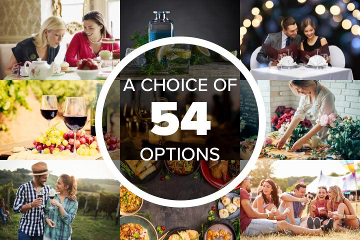 Mega Choice for Food and Drink - Gift Experience Voucher