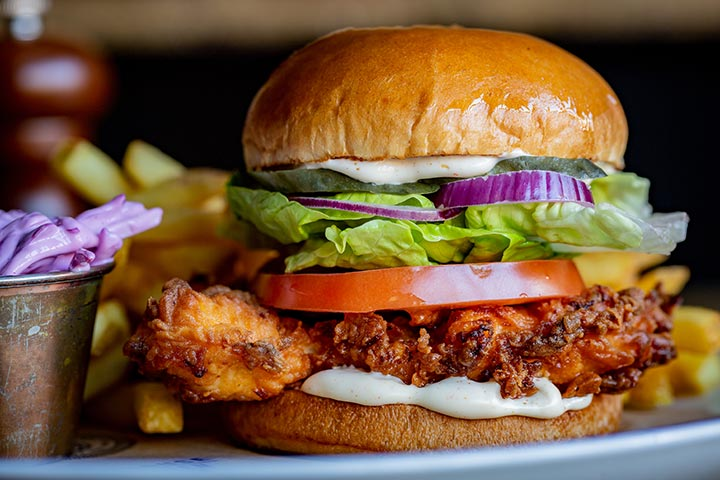 Gourmet Burger Meal and Craft Beer for Two