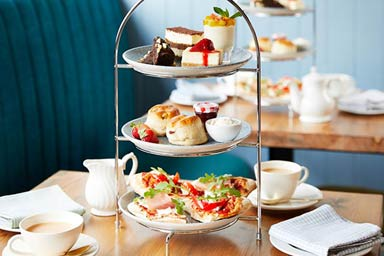 Bella Italia Sparkling Afternoon Tea for Two Thumb