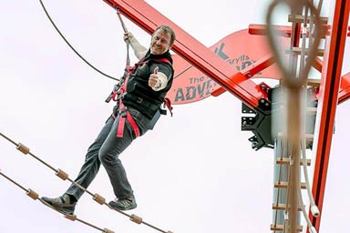 The Bear Grylls High Ropes Experience for Two Thumb