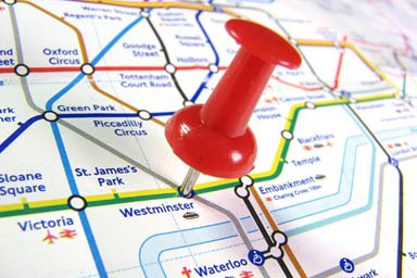 The London Underground Treasure Hunt for Two Thumb