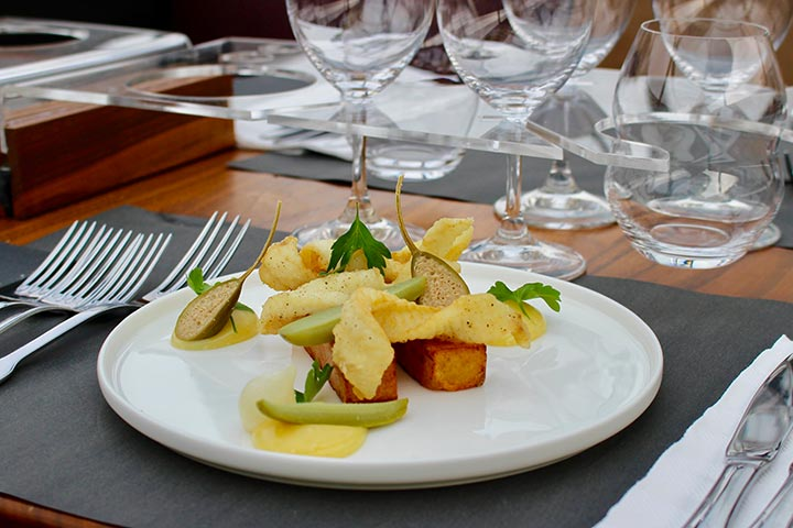 Four Course Lunch for Two at Bustronome London