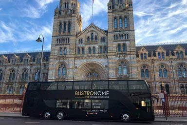 Six Course Dinner and Bus Tour for Two at Bustronome London Thumb