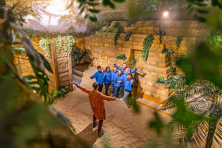 Crystal Maze Manchester VIP Package for Two