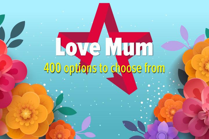 Love Mum - Gift Experience Voucher