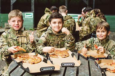 Forest Laser Tag with Lunch for Four Thumb