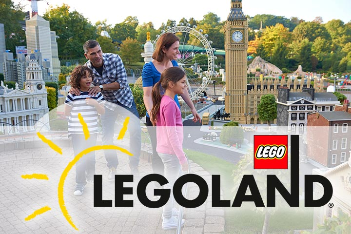 Legoland Windsor and Meal Deal for Two Adults and Two Children