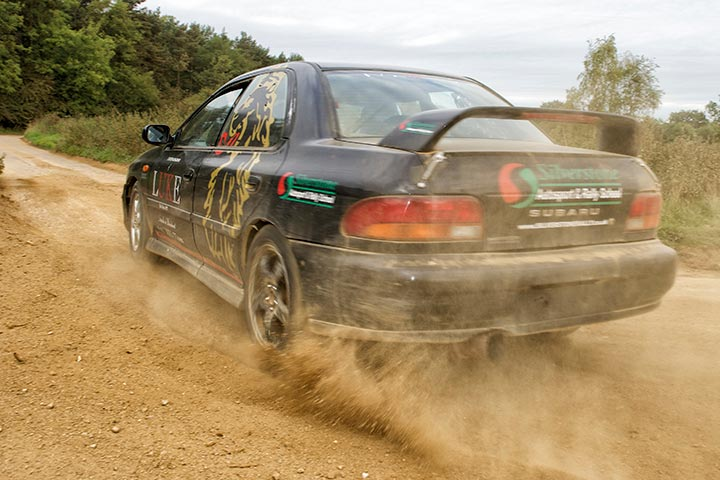 Rally Taster at Silverstone Rally School