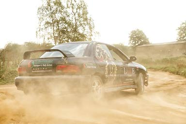 Rally Taster at Silverstone Rally School Thumb