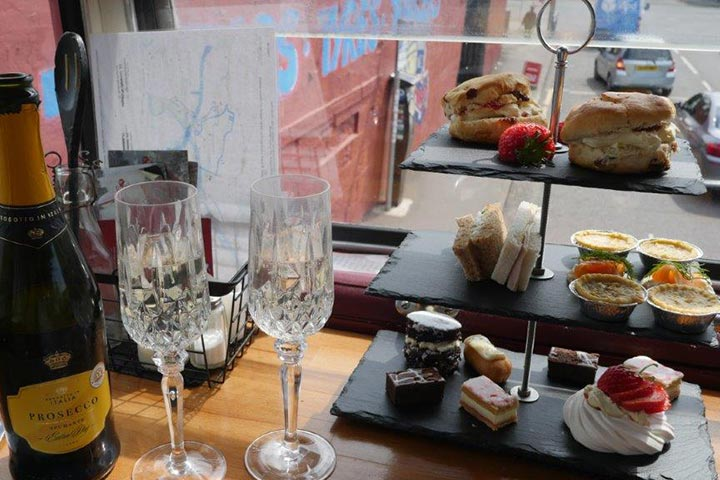 Red Bus Bistro Sparkling Afternoon Tea for Two