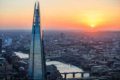 View from The Shard with a Three Course Meal & Wine for Two at Café Rouge