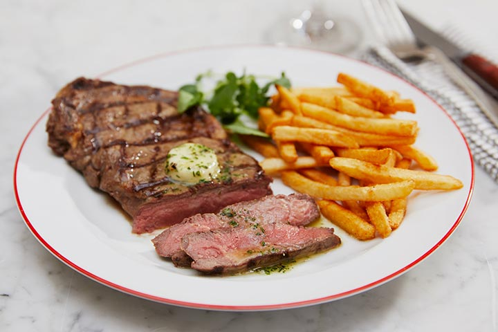 Up at The O2 and 3 Course Meal with Sparkling Wine at Café Rouge for Two - Weekend