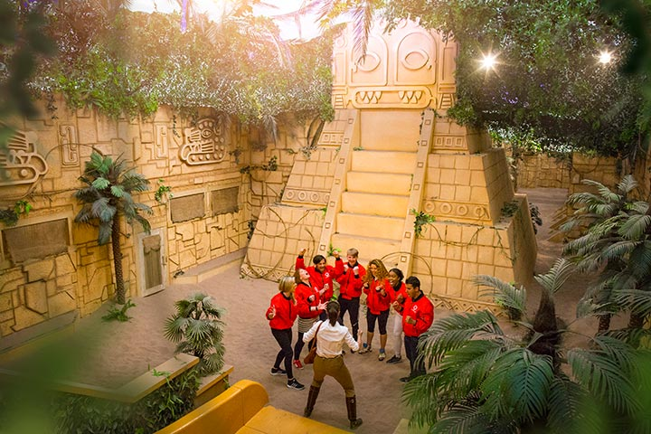 Crystal Maze London VIP Package for Two