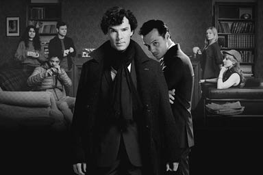 Sherlock Holmes Escape Room for Four with Pizza and Drink Thumb