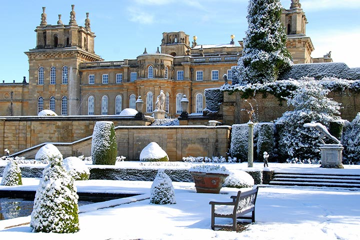 Entrance to Blenheim Palace and a Champagne Afternoon Tea for Two