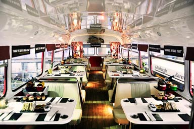Red Bus Bistro Gin Afternoon Tea for Two
