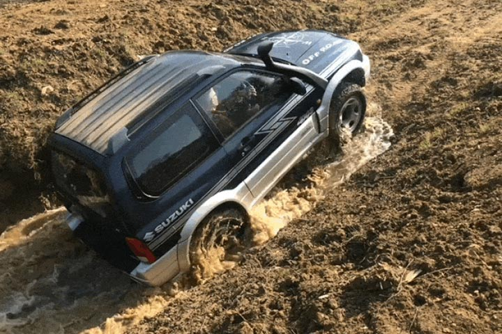4x4 Taster at Silverstone Rally School